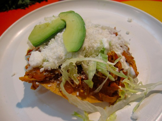 Tostada Mexico City