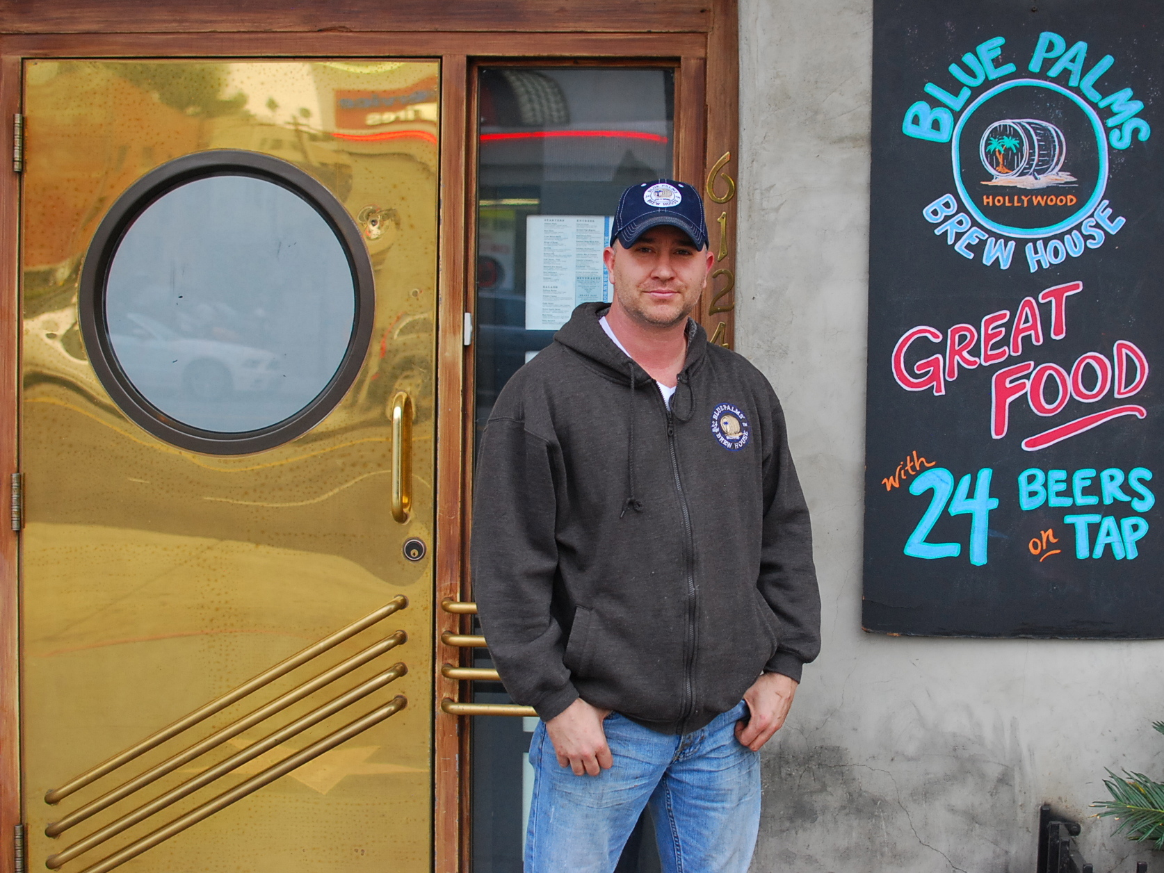 Interview: beer pro Brian Lenzo (Blue Palms Brewhouse)